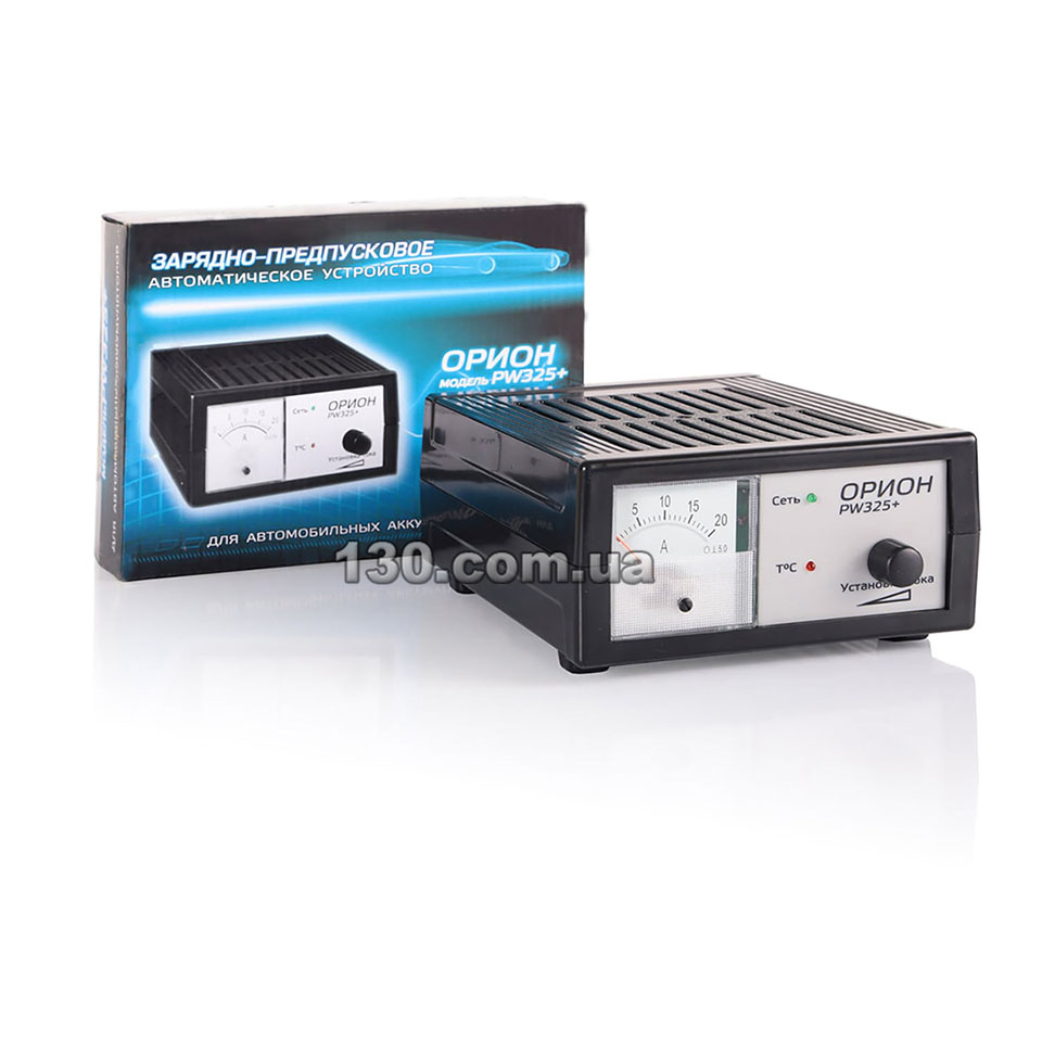 Орион PW265 - зарядное устройство 12 В, 0,6-6 А для автомобильного аккумулятора.