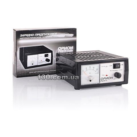 Зарядные, зарядно-пусковые устройства Орион 6,12,24В.
