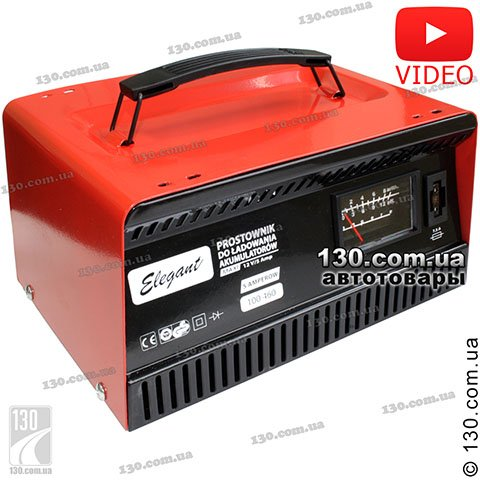 Charger Elegant Maxi 100 460 5 A for car and motorcycle battery