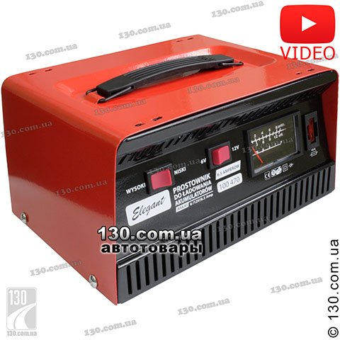 Charger Elegant Maxi 100 470 6.5 A for car and motorcycle battery