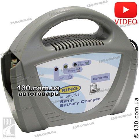 Зарядное устройство Ring RECB106 12 В, 6 А для ...