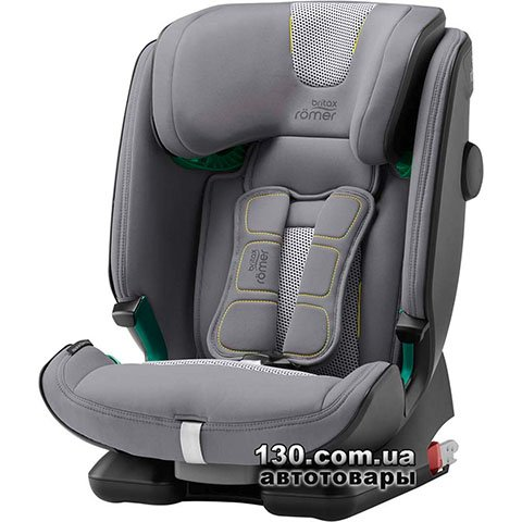 Child car seat with ISOFIX Britax-Romer ADVANSAFIX i-SIZE Cool Flow — Silver