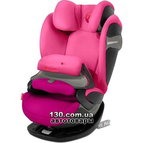 Детское автокресло с ISOFIX Cybex Pallas S-Fix Passion Pink (518000933)