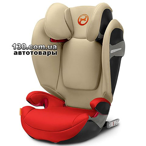 Детское автокресло с ISOFIX Cybex Solution S-Fix Autumn Gold (518000959)