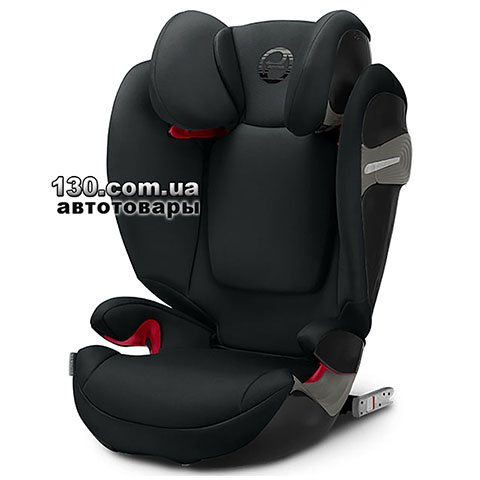 Детское автокресло с ISOFIX Cybex Solution S-Fix Lavastone Black (518000949)