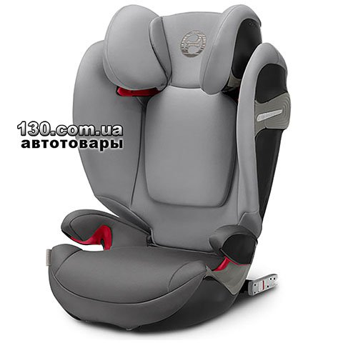 Детское автокресло с ISOFIX Cybex Solution S-Fix Manhattan Grey (518000955)
