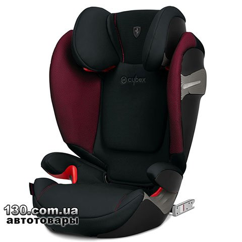 Детское автокресло с ISOFIX Cybex Solution S-Fix Victory Black (519000221)