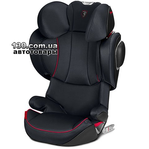 Детское автокресло с ISOFIX Cybex Solution Z-Fix Victory Black (519000025)