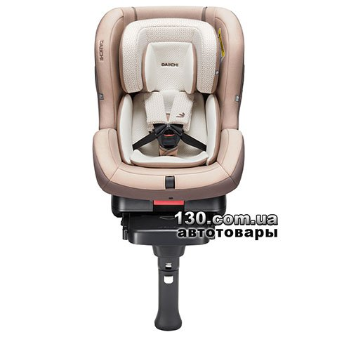 Child car seat with ISOFIX Daiichi First7 FIX Organic Brown