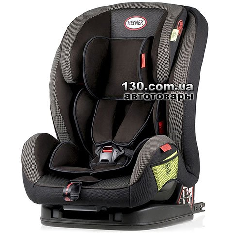 Child car seat with ISOFIX HEYNER MultiFix AERO+ Pantera Black (796 110)