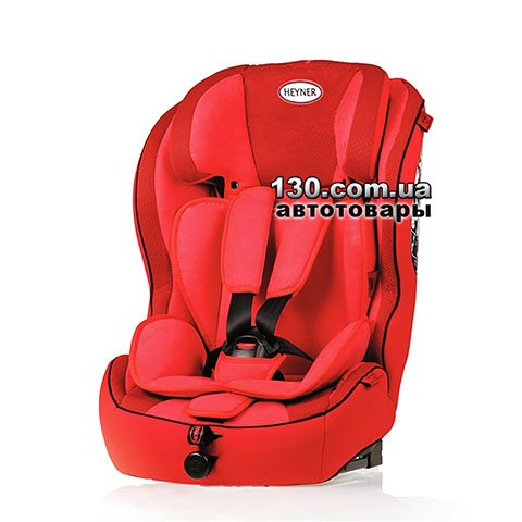 Child car seat with ISOFIX HEYNER MultiFix AERO+ Racing Red (796 130)