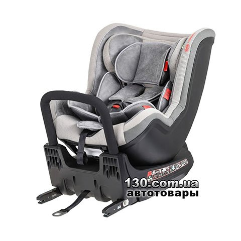 Child car seat with ISOFIX HEYNER MultiFix TWIST Koala Grey (782 120)