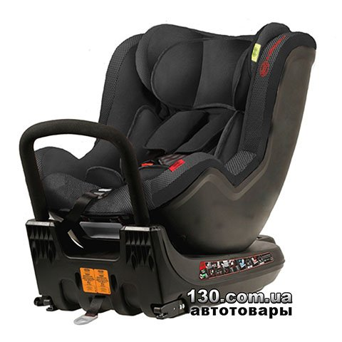 Child car seat with ISOFIX HEYNER MultiFix TWIST Pantera Black (782 110)