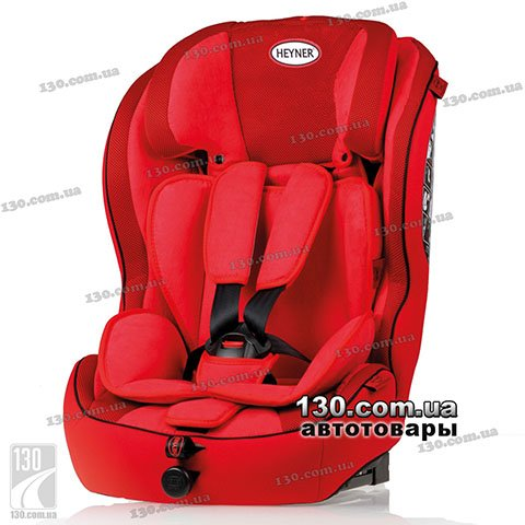 Child car seat with ISOFIX HEYNER MultiRelax AERO Fix Racing Red (798 130)