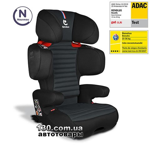 Child car seat with ISOFIX Renolux Renofix Carbon