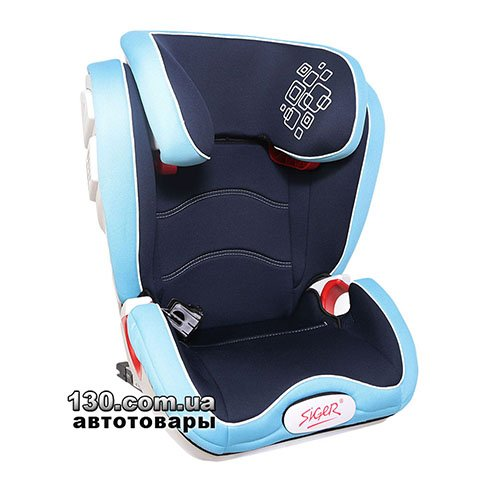 Child car seat with ISOFIX Siger Olympus FIX Blue (KRES1481)