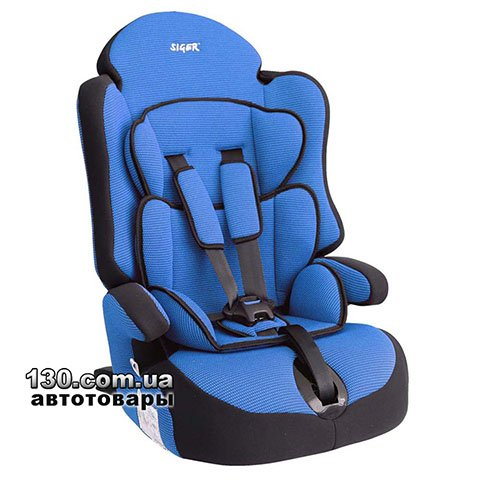 Child car seat with ISOFIX Siger Prime Blue (KRES0149)