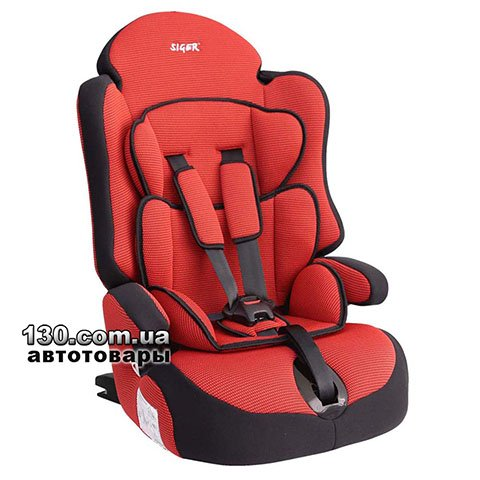 Child car seat with ISOFIX Siger Prime Red (KRES0146)