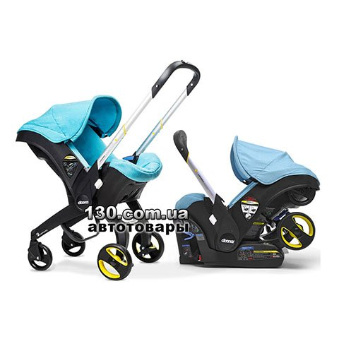 Child car seat with stroller Doona Infant Sky / Turquoise