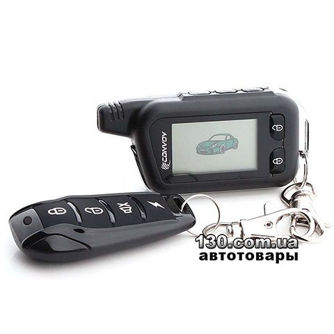 Car alarm Convoy MP-50 LCD