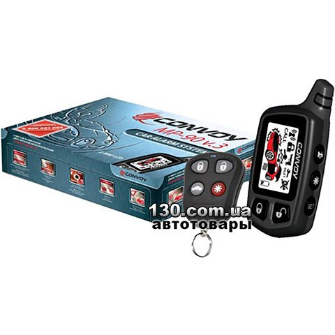 Car alarm Convoy MP-90 v.3 LCD