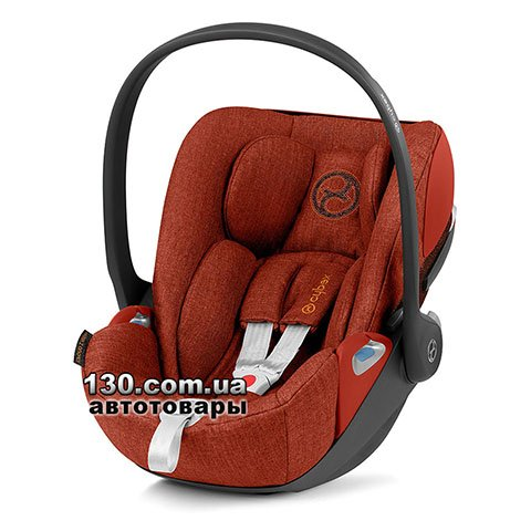 Детское автокресло Cybex Cloud Z i-Size Plus Autumn Gold burnt red