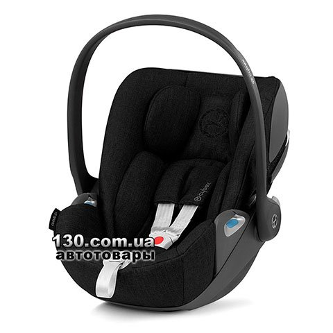 Детское автокресло Cybex Cloud Z i-Size Plus Deep Black black