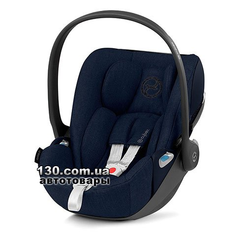 Детское автокресло Cybex Cloud Z i-Size Plus Nautical Blue navy blue