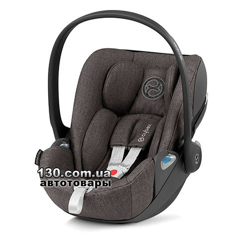 Детское автокресло Cybex Cloud Z i-Size Plus Soho Grey mid grey