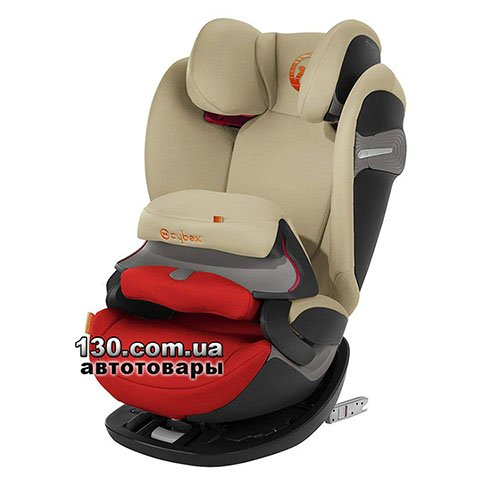 Child car seat with ISOFIX Cybex Pallas S-fix / Autumn Gold burnt red