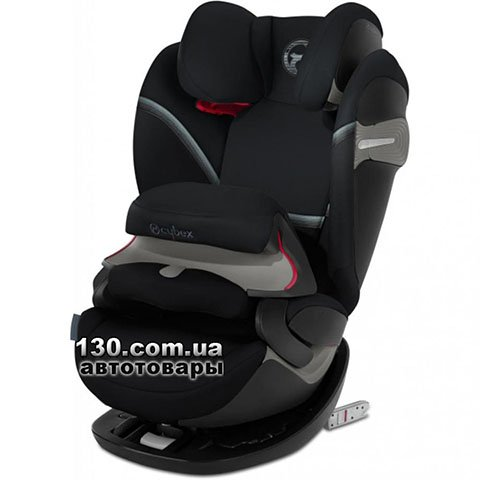 Child car seat with ISOFIX Cybex Pallas S-fix / Deep Black black