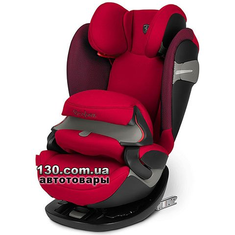 Child car seat with ISOFIX Cybex Pallas S-fix / Ferrari Racingl Red red