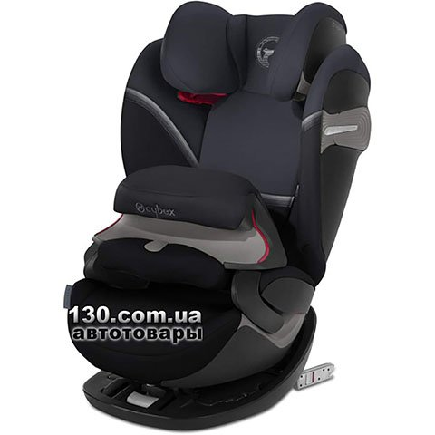 Child car seat with ISOFIX Cybex Pallas S-fix / Granite Black black