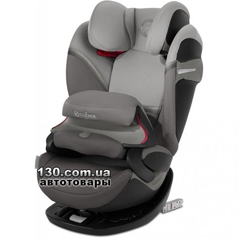 Child car seat with ISOFIX Cybex Pallas S-fix Soho Grey mid grey