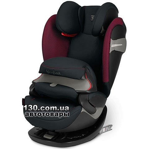 Child car seat with ISOFIX Cybex Pallas S-fix / Victory Black-black