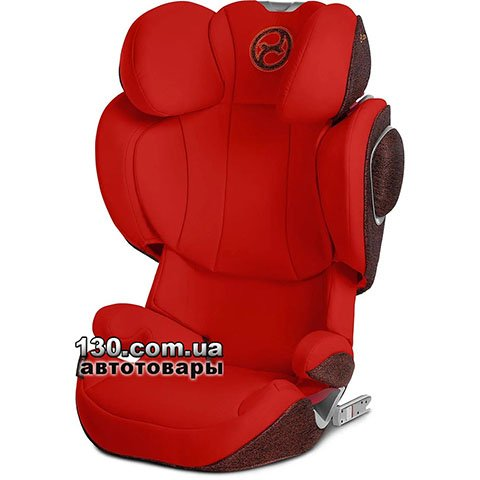 Child car seat with ISOFIX Cybex Solution Z-fix Autumn Gold burnt red