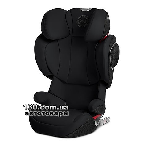 Child car seat with ISOFIX Cybex Solution Z-fix Deep Black black