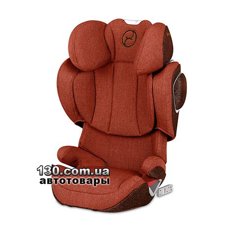 Child car seat with ISOFIX Cybex Solution Z i-Fix Plus Autumn Gold burnt red