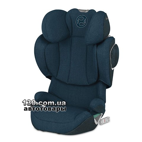 Child car seat with ISOFIX Cybex Solution Z i-Fix Plus Mountain Blue turquoise