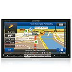 DVD/USB receiver Alpine INE-W977BT with GPS navigation and Bluetooth