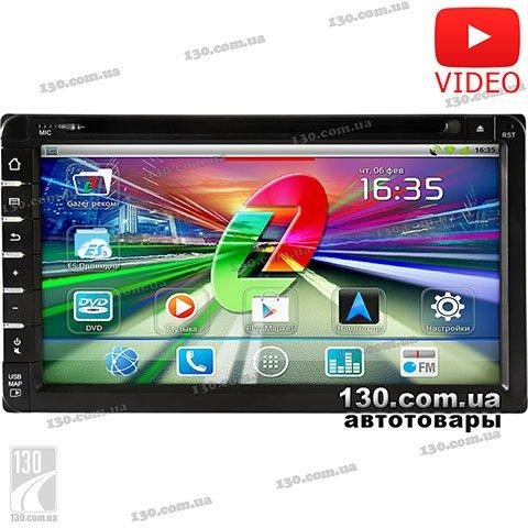 DVD/USB автомагнитола Gazer CM172-100 с GPS навигацией, Bluetooth и WiFi