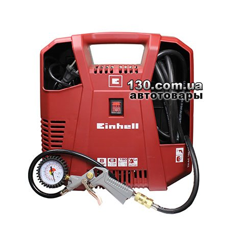 Компрессор Einhell TH-AC 190 Kit с манометром и пневмопистолетом