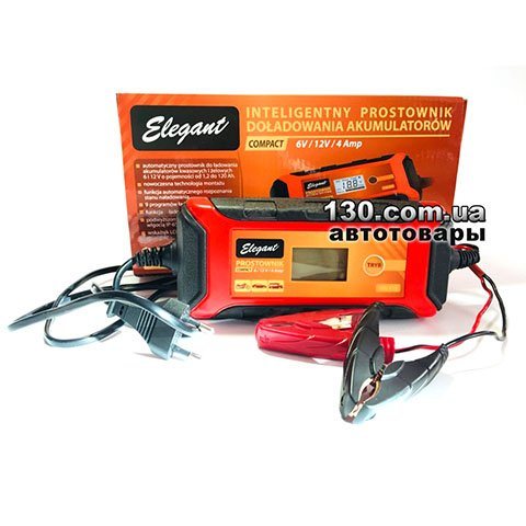 Elegant Compact 100 415 — buy impulse charger 6/12 V, 4 A