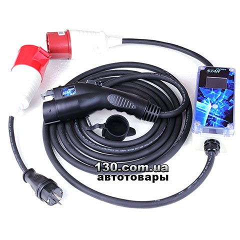 Electric vehicle charger EnergyStar J1772 M32Box Smart T1 Type 1