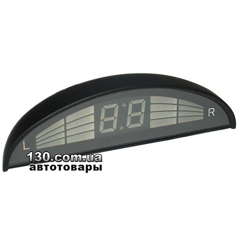 Парктроник GT P Rainbow 8 white (P RB8 White) с LED-дисплеем