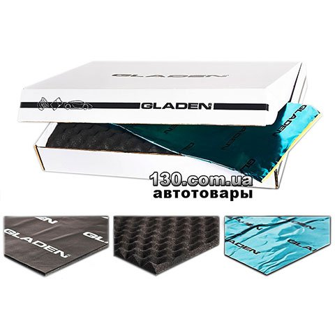 Комплект шумоизоляции Gladen 2-Door Kit Professional на две двери