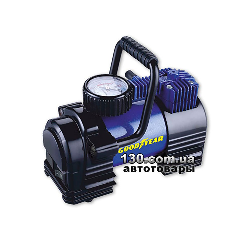 9a8eb4a7e6eb Goodyear GY-35L — купить компрессор автомобильный (насос) c манометром  (GY000102)