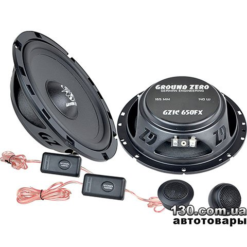 Car speaker Ground Zero GZIC 650FX