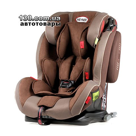 Детское автокресло с ISOFIX HEYNER Capsula MultiFix ERGO 3D Cookie Brown (786 160)