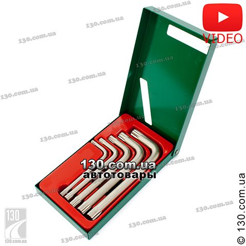 Hex keys set Hans 16778-5M
